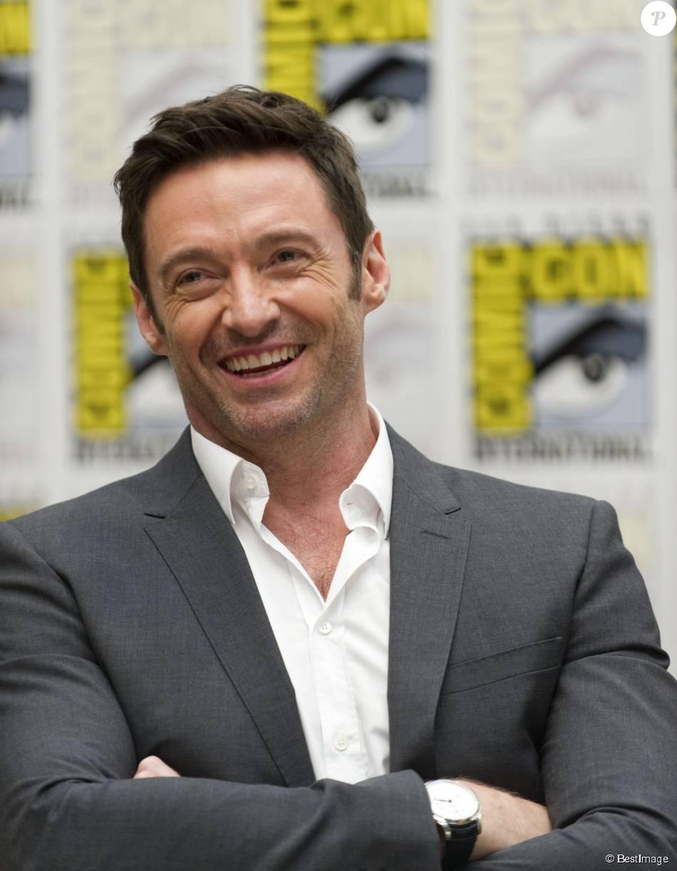 Hugh Jackman en conférence de presse au Comic-Con à San Diego le 11 juillet 2015