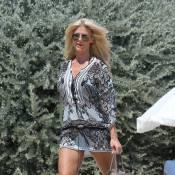 Victoria Silvstedt : Sirène sexy et détendue à Saint-Tropez