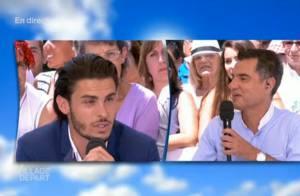 Baptiste Giabiconi lynché après un tweet sur le 14 juillet : Il s'explique !