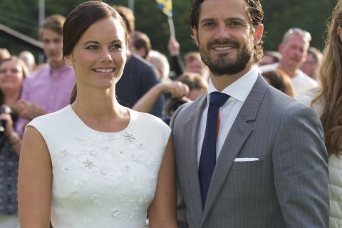 Carl Philip et Sofia de Suède, jeunes mariés euphoriques après leur lune de miel