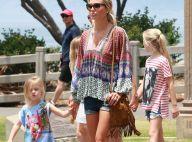 Steven Gerrard: Sa belle Alex et ses filles complices sous le soleil californien