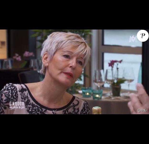 Annick (prétendante de Thierry), dans L'amour est dans le pré 2015 (épisode 2), diffusé le lundi 15 juin 2015 sur M6.