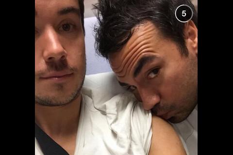 Alex Goude : Son mari hospitalisé donne de ses nouvelles !