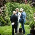 Mariage de Guy Ritchie et Jacqui Ainsley (photo postée le 3 août 2015)