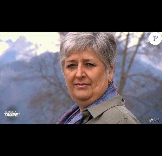 Muriel dans Qui est la taupe ? sur M6, le mercredi 5 août 2015.