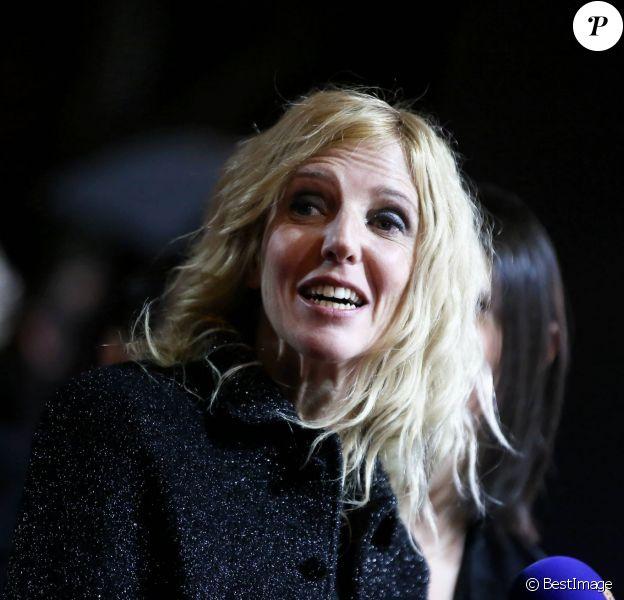 Sandrine Kiberlain à Paris le 20 février 2015