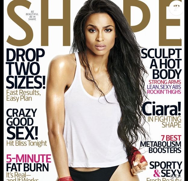Retrouvez l'intégralité de l'interview de la chanteuse Ciara dans le magazine Shape, en kiosques dès le 18 août prochain aux Etats-Unis.