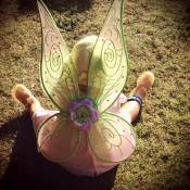 Faustine Bollaert : Sa petite Abbie, 2 ans, adorable en Fée Clochette !