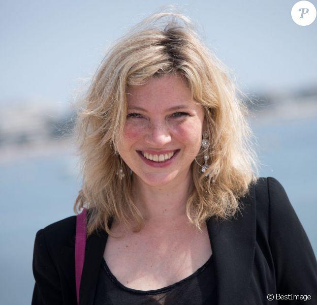 Cécile Bois, à Cannes le 7 avril 2014.