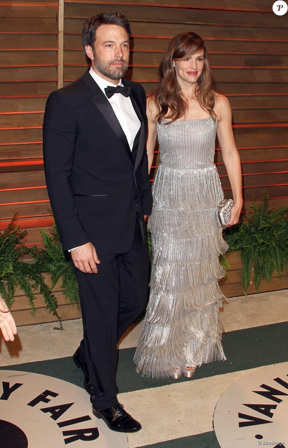 Jennifer Garner et Ben Affleck, ici présents à la soirée Vanity Fair, après la 86 ème  cérémonie des Oscars, le 2 mars 2014 au Sunset Plaza, à Hollywood