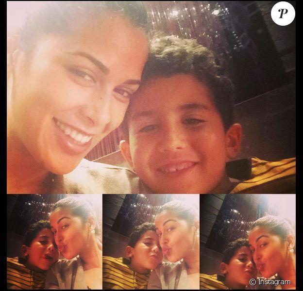 Ayem Nour : Retrouvailles avec son petit frère !