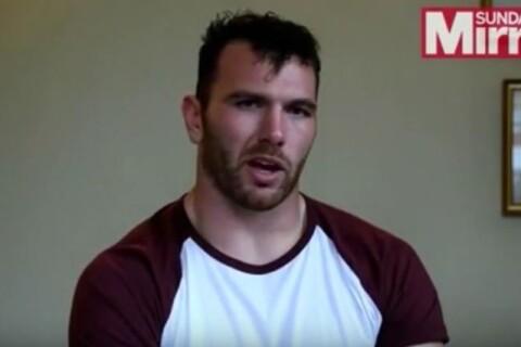 """Keegan Hirst : Coming-out du joueur de rugby, sa femme et lui """"en larmes"""" !"""