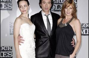 REPORTAGE PHOTOS : Les sublimes Rachel McAdams et Kelly Reilly entourent Robert Downey Jr... de leurs charmes !