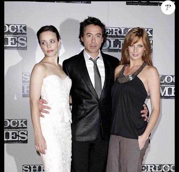Rachel McAdams, Robert Downey Jr. et Kelly Reilly