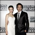 Rachel McAdams et Robert Downey Jr.
