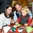 Jessica Ciencin Henriquez, Josh Lucas et leur fils Noah Rev Maurer - Holidays with St. Jude Children's Research Hospital Brooks Brothers Celebration à New York le 17 décembre 2014