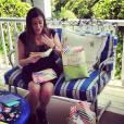 Jaime Feld lors de sa baby shower. Photo postée sur Instagram en juillet 2015