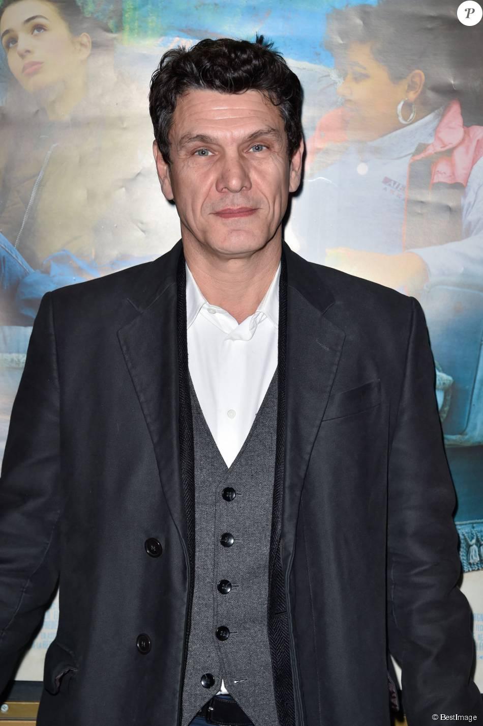 Marc Lavoine, à la projection du film Papa was not a Rolling Stone, à Paris le 9 mars 2015.