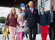 Famille royale de Belgique: Emmanuel en solo, Eléonore en fluo, c'est la rentrée