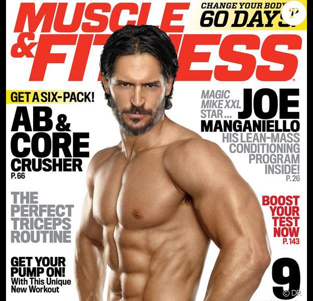 Retrouvez l'intégralité de l'interview de Joe Manganiello dans le dernier numéro du magazine Muscle & Fitness.