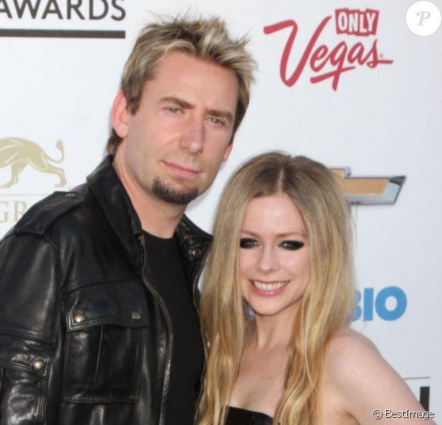 """Avril Lavigne, Chad Kroeger a la soiree """"2013 Billboard Music Awards"""" au """"MGM Grand Garden Arena"""" a Las Vegas, le 19 mai 2013 ."""