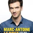 Marc-Antoine Le Bret, actuellement sur la scène du théâtre Le République à Paris.