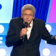 Marc-Antoine Le Bret imite Laurent Ruquier dans  On n'est pas couché  sur France 2, le samedi 29 août 2015.