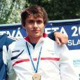 Bastien Damiens, le jeune espoir du kayak mort à 20 ans seulement, après une chute le 6 septembre 2015.