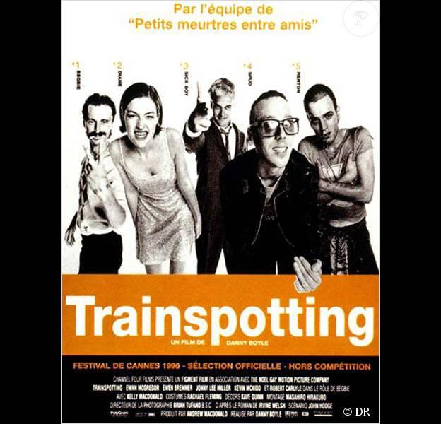 Affiche du film Trainspotting de Danny Boyle (1996)