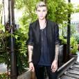 Gabriel-Kane Day-Lewis (fils d'Isabelle Adjani et Daniel Day-Lewis) assiste à la soirée de coup d'envoi de la Fashion Week organisée par Twitter et l'agence IMG. New York, le 9 septembre 2015.