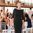 Uma Thurman assiste au déjeuner de remise du Couture Council Awardau créateur Manolo Blahnik, au David H. Koch Theater au Lincoln Center. New York, le 9 septembre 2015.