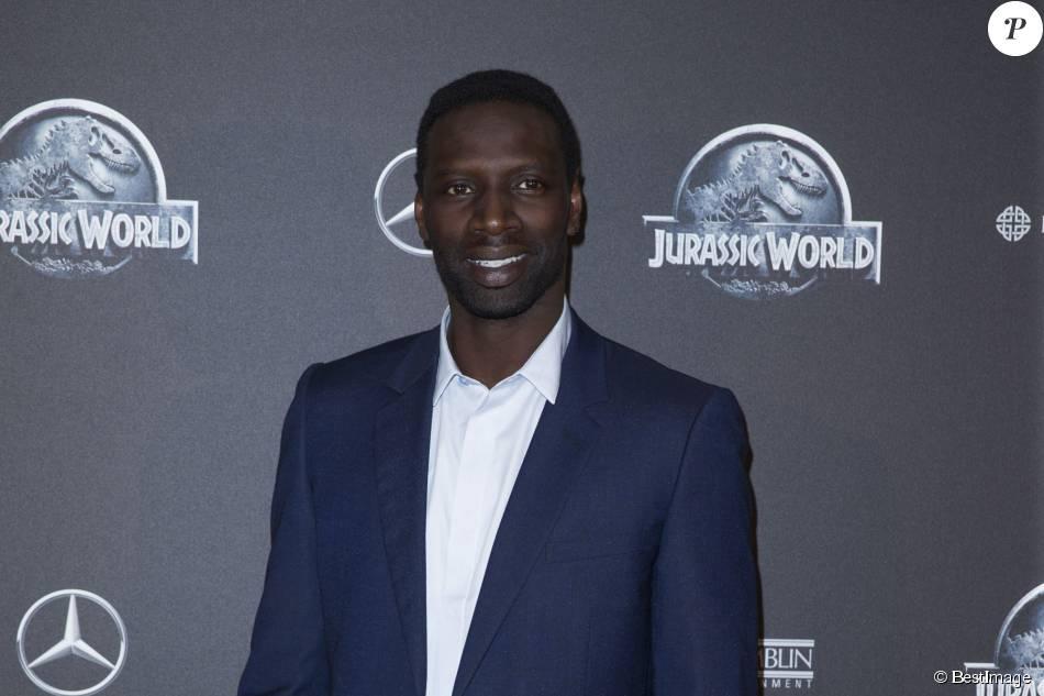 """Omar Sy - Première du film """"Jurassic World"""" à l'Ugc Normandie à Paris le 29 mai 2015."""