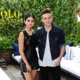 Selena Gomez et Brooklyn Beckham assistent à la présentation de la collection printemps-été 2016 de Polo Ralph Lauren au Gallow Green, restaurant de l'hôtel McKittrick. New York, le 11 septembre 2015.
