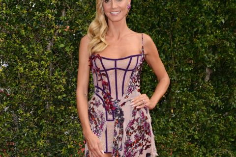 Heidi Klum : Renversante avant les Emmy Awards et à la Fashion Week