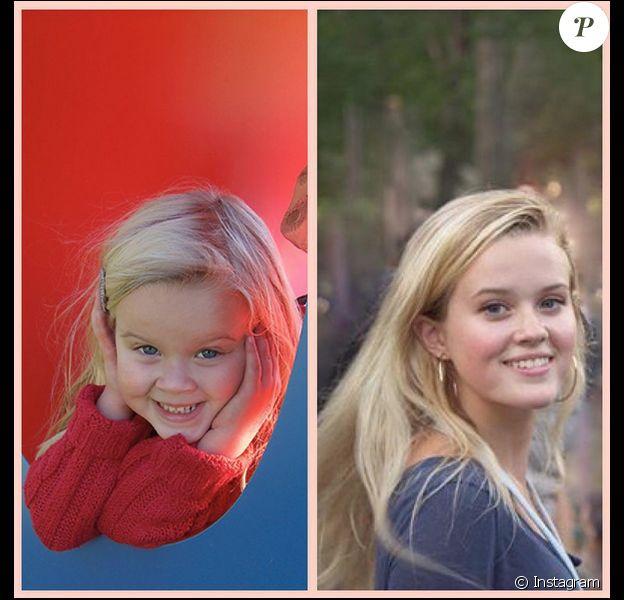 Reese Witherspoon rend hommage à sa fille Ava qui vient de fêter ses 16 ans. Photo postée le 9 septembre 2015.