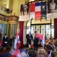 """Le prince Albert II de Monaco inaugurait le 10 septembre 2015 au Touquet, dans le Pas-de-Calais, la Digue-Promenade """"Princes de Monaco"""" en hommage à ses grands-parents et à son père. Il a profité de sa venue pour découvrir une exposition de photographies de Grace Kelly sur la plage."""