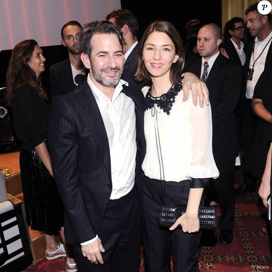 Marc Jacobs et Sofia Coppola assistent au défilé Marc Jacobs printemps-été 2016 au Ziegfeld Theater. New York, le 17 septembre 2015.