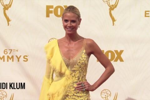 Heidi Klum en transparence, tops et flops des Emmy Awards 2015