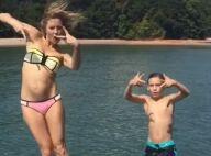 Kate Hudson : Photos souvenirs et bateau en famille, la star se jette à l'eau !