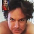 Kate Hudson fait un Facetime avec son frère Oliver le jour de son anniversaire / photo postée sur Instagram.