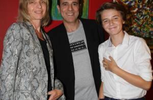Thierry Beccaro : Peintre abstrait soutenu par sa femme et son fils