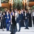Marie-Agnès Gillot, Benjamin Millepied et les danseurs de l'Opéra de Paris- Gala d'ouverture de la saison du Ballet de l'Opéra national de Paris, le 24 septembre 2015.