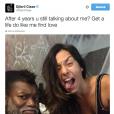 Djibril Cissé s'emporte contre son ex-femme sur Twitter le 7 octobre 2015.