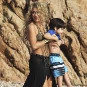 Shakira dénudée à la plage avec Milan pour un tournage mystère