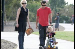 REPORTAGE PHOTOS : Gwen Stefani et Jack Black, le dimanche, c'est... famille !
