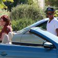 Connor Cruise et sa soeur Isabella à Los Angeles, le 7 août 2012.