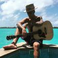 Justin Bieber à Bora Bora, le 7 octobre 2015