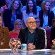 """Patrick Bruel et Valérie Lemercier parlant des doublures """"cul"""" au cinéma, le 10 octobre 2015 dans Les enfants de la télé sur TF1."""