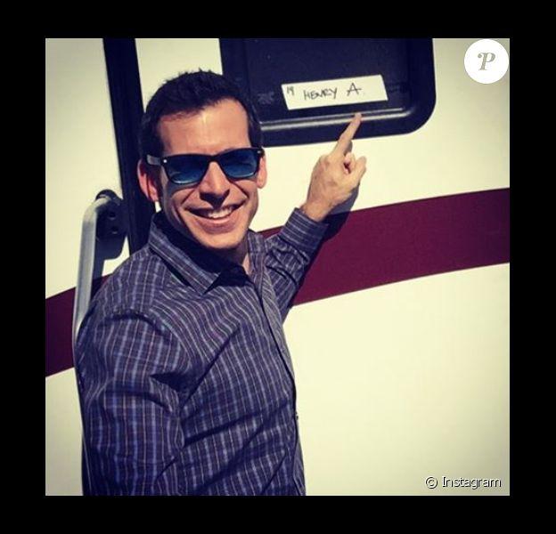 Jon Wellner a rajouté une photo de lui sur le tournage des Experts sur sa page Instagram