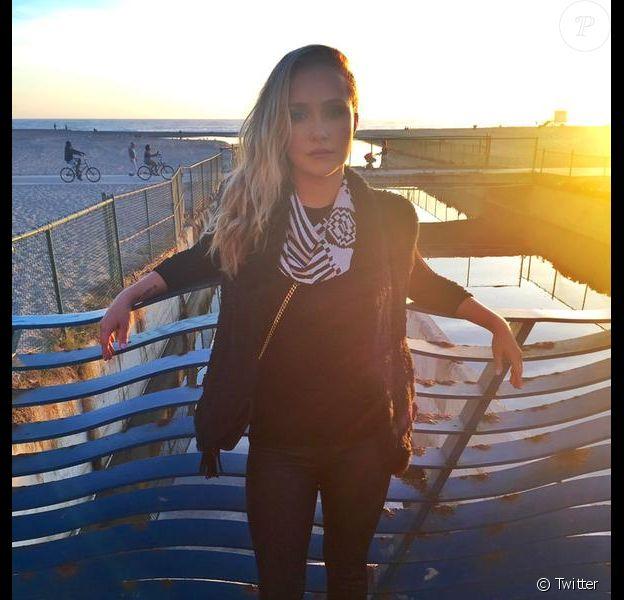 Hayden Panettiere a rajouté une photo d'elle sur sa page Twitter / octobre 2015
